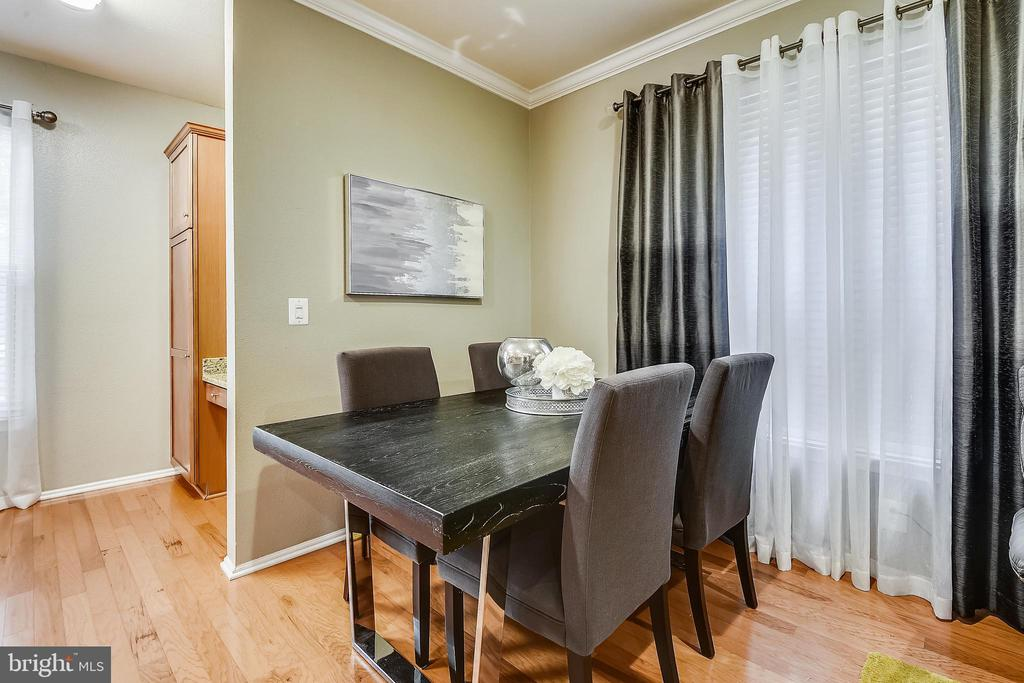 Dining Area - 11800 OLD GEORGETOWN RD #1222, ROCKVILLE