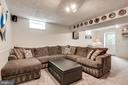 Recreation Room - 404 BELLE GROVE RD, GAITHERSBURG