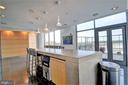 Wave Lounge can be reserved for entertaining - 2001 15TH ST N #1004, ARLINGTON