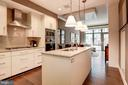 Kitchen - 7171 WOODMONT AVE #507, BETHESDA