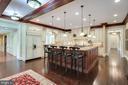 Gourmet Kitchen with island - 809 HOMESTEAD LN, CROWNSVILLE