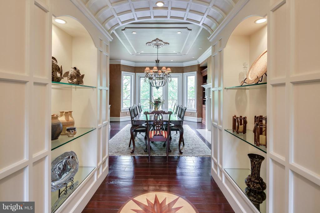 View from Foyer into Dining Room - 809 HOMESTEAD LN, CROWNSVILLE