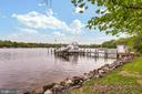 Waterfront and pier - 809 HOMESTEAD LN, CROWNSVILLE