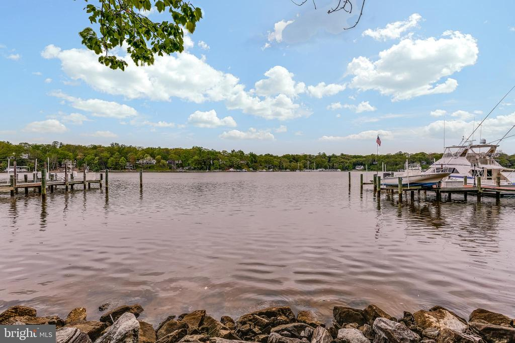 Pier and waterfront - 809 HOMESTEAD LN, CROWNSVILLE