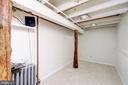 Office/den in basement - 704 8TH ST NE, WASHINGTON