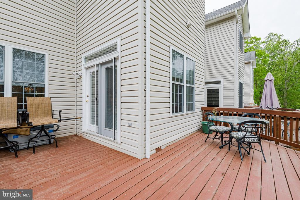 Deck - 606 ANDREW HILL RD, ARNOLD