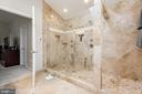 Awesome Master Bath Shower - 606 ANDREW HILL RD, ARNOLD