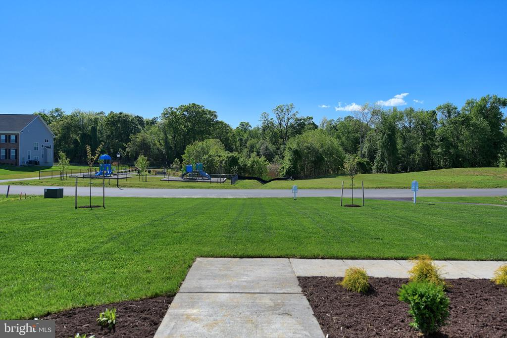 View from Front Door - Gorgeous! - 11202 KING GALLAHAN CT, CLINTON