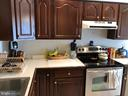 Kitchen with Stainless Appliances - 8 S CHERRY GROVE AVE, ANNAPOLIS