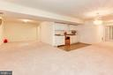 Rec Room - Lower Level - 7104 DUDROW CT, SPRINGFIELD