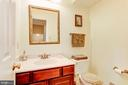 Half Bath - Main Level - 7104 DUDROW CT, SPRINGFIELD