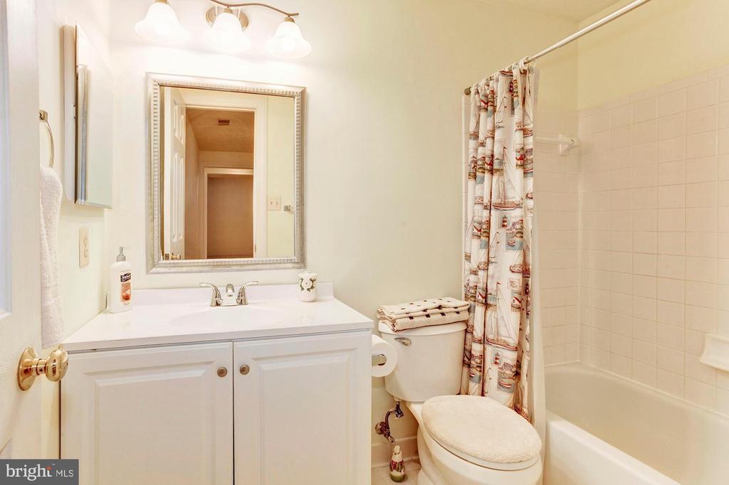 Full Bath - Lower Level - 7104 DUDROW CT, SPRINGFIELD