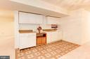 Kitchenette Area - Lower Level - 7104 DUDROW CT, SPRINGFIELD