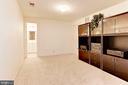 Bonus Room - Lower Level - 7104 DUDROW CT, SPRINGFIELD