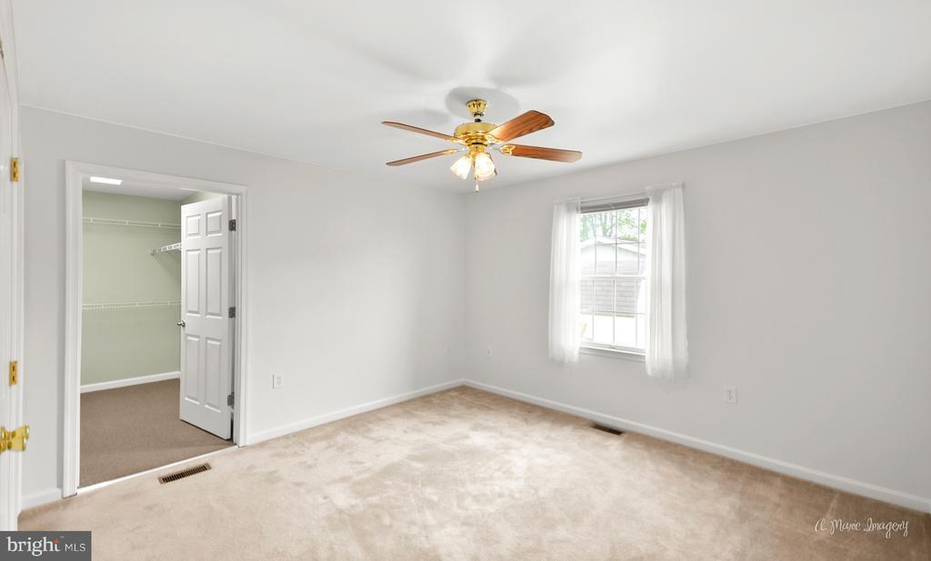 Master Bedroom with Walk in Closet - 103 S ADAMS ST, WOODSBORO