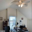 Loft Bedroom/Office with cathedral ceilings - 8 S CHERRY GROVE AVE, ANNAPOLIS