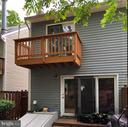 Rear exterior with Master Bedroom balcony - 8 S CHERRY GROVE AVE, ANNAPOLIS