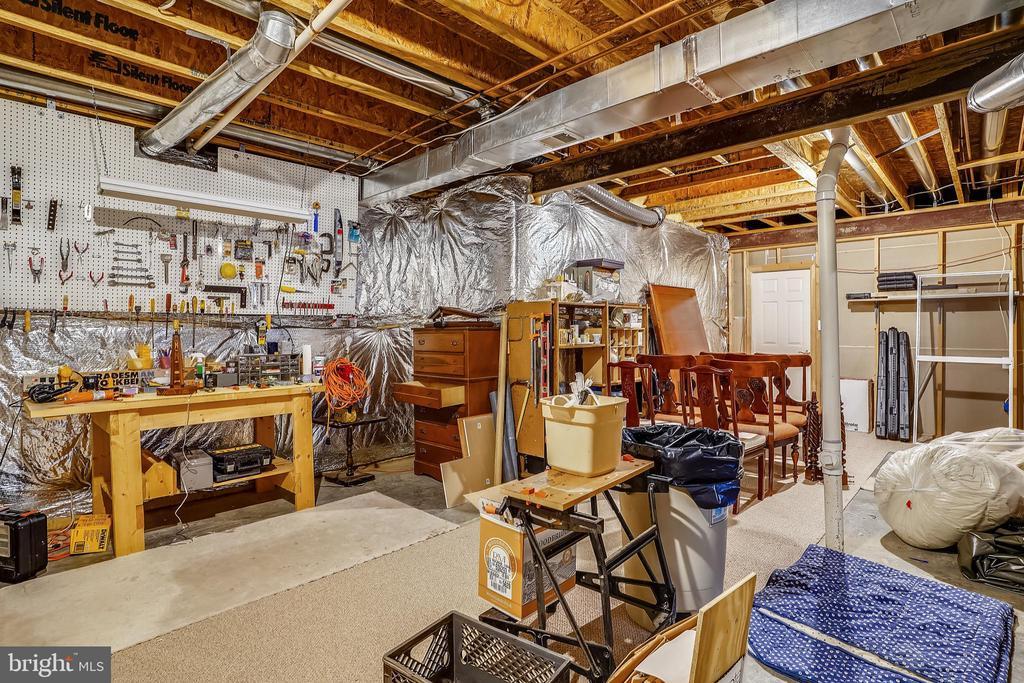 Lower level storage/utility room - 206 WATKINS CIR, ROCKVILLE