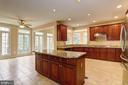Stunning Kitchen - 6115 HOLLY RIDGE CT, COLUMBIA