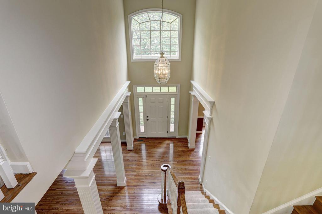 Overlook of Foyer - 6115 HOLLY RIDGE CT, COLUMBIA