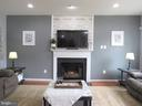 1st floor: family room with gas fireplace - 27 CAPE COD, MARTINSBURG