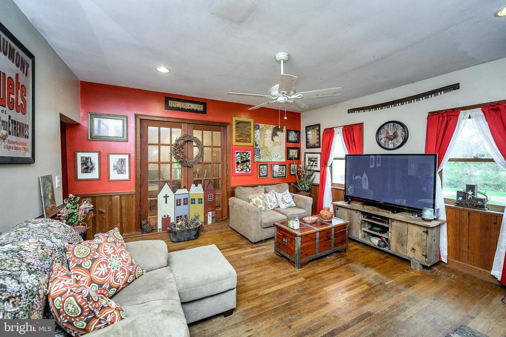 Large family room with french doors. - 16253 MARQUIS RD, ORANGE