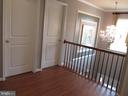2nd floor: large open foyer - 27 CAPE COD, MARTINSBURG