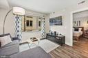 Living Room - 1311 13TH ST NW #102, WASHINGTON