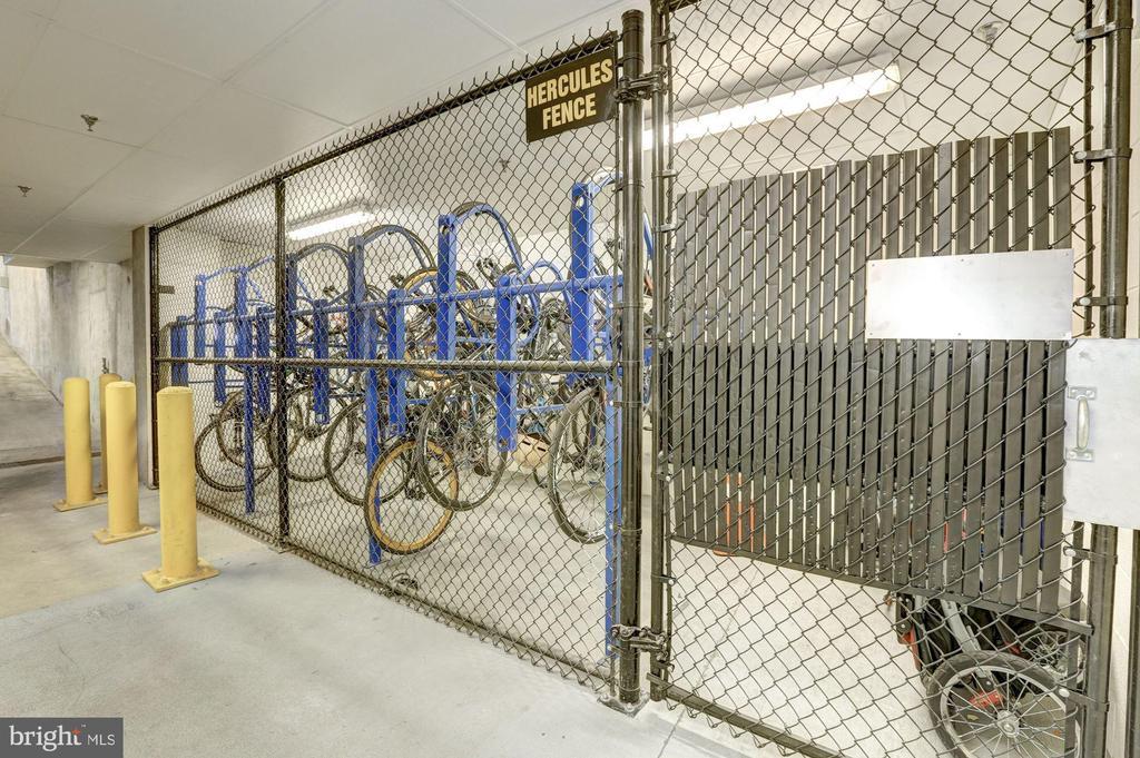 Secure Bike Storage - 1311 13TH ST NW #102, WASHINGTON