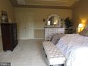 2nd floor:  master bedroom with double doors - 27 CAPE COD, MARTINSBURG
