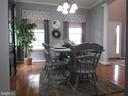 1st floor:  Dining room (from kitchen) - 27 CAPE COD, MARTINSBURG
