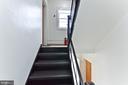 Building interior leading to the condominium. - 2504 22ND ST NE #6, WASHINGTON