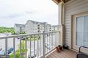 Balcony - 2231 JOHN GRAVEL RD #M, MARRIOTTSVILLE