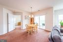 Dining Area - 2231 JOHN GRAVEL RD #M, MARRIOTTSVILLE