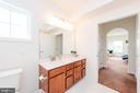 Master Bathroom - 2231 JOHN GRAVEL RD #M, MARRIOTTSVILLE