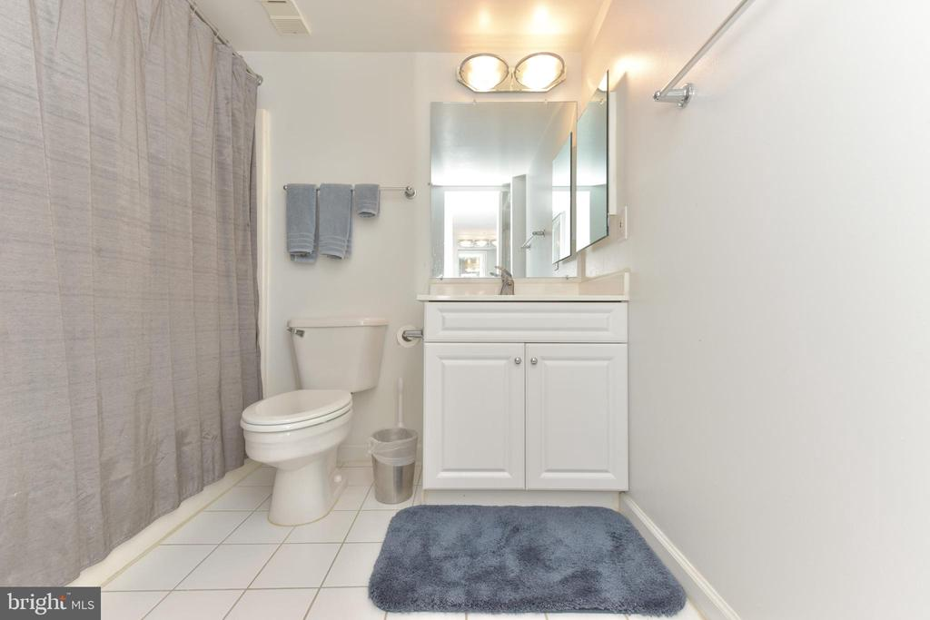 Master Bathroom with Custom Built Ins - 3800 POWELL LN #PH 30, FALLS CHURCH