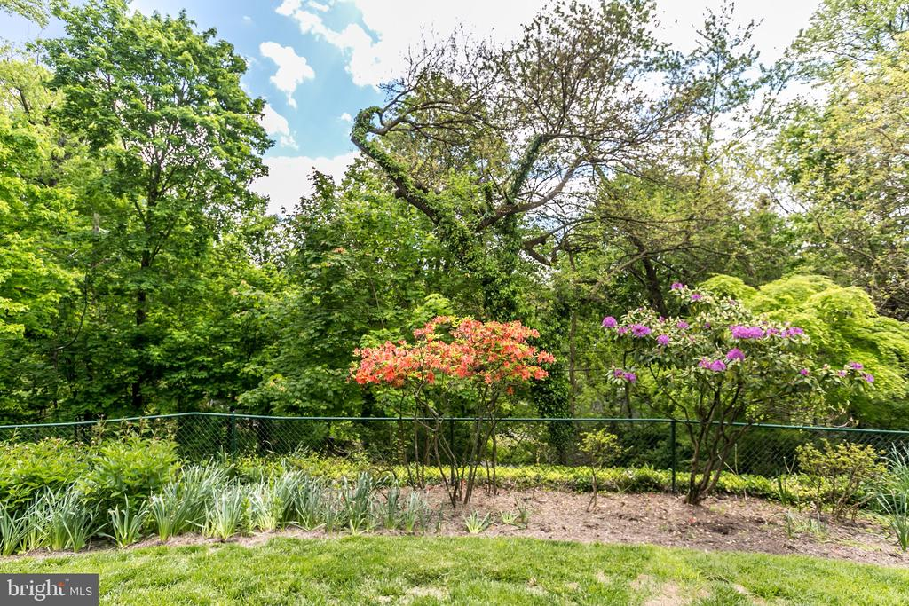 NICELY PARTIALLY FENCED GARDEN/YARD - 1009 WINDING WAY, BALTIMORE