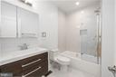 Upper Level Shared Bath - 8728 RIDGE RD, BETHESDA