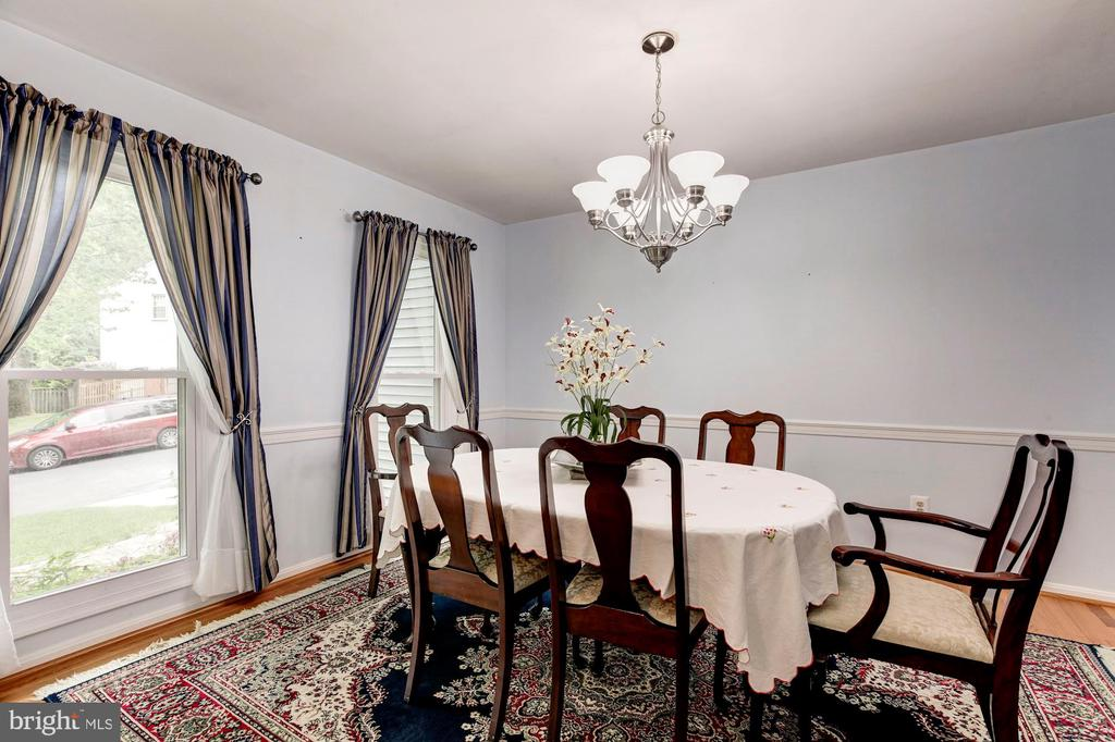 Hardwood Dining Room - 11329 CLASSICAL LN, SILVER SPRING