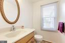 Half bath on main level - 11329 CLASSICAL LN, SILVER SPRING