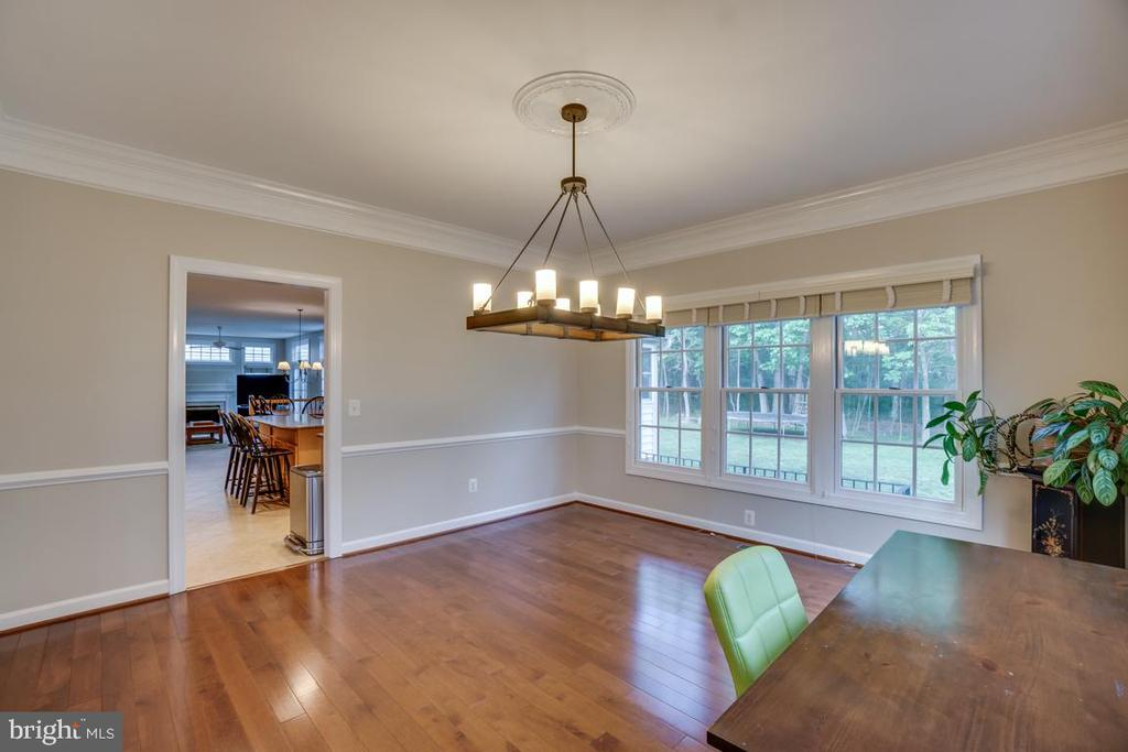 Formal Dinning Room - View 2 - 43671 MINK MEADOWS ST, CHANTILLY