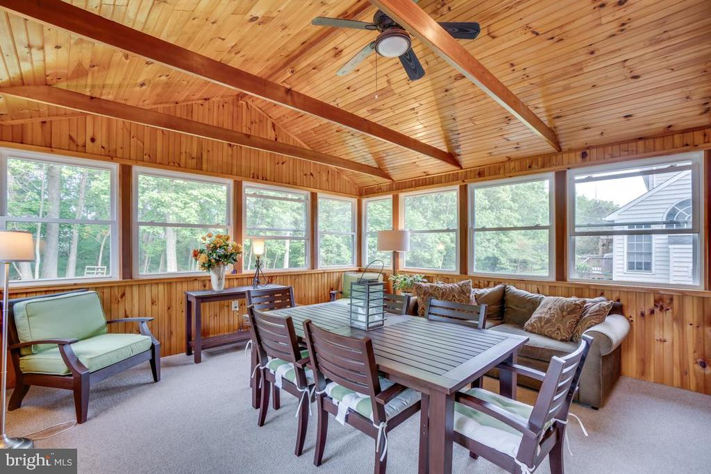 Sunroom / Screened-in Porch - 43671 MINK MEADOWS ST, CHANTILLY