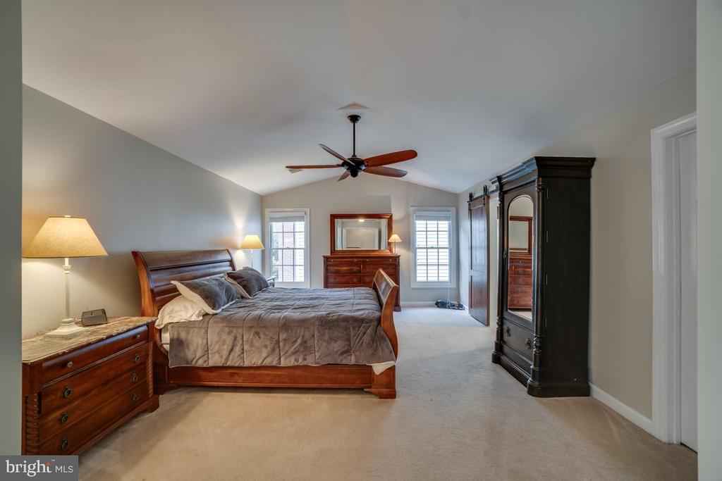 Master Bedroom With High Ceilings - 43671 MINK MEADOWS ST, CHANTILLY