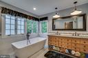 Luxury Master Bath With Freestanding Soaking Tub - 43671 MINK MEADOWS ST, CHANTILLY