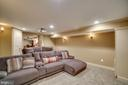 Home Theater / Movie Room - View 2 - 43671 MINK MEADOWS ST, CHANTILLY