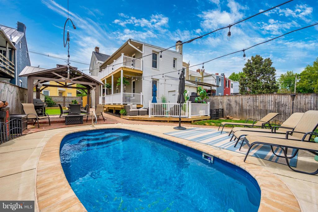 The pool is open and ready for your summer needs - 18 N WISNER ST, FREDERICK