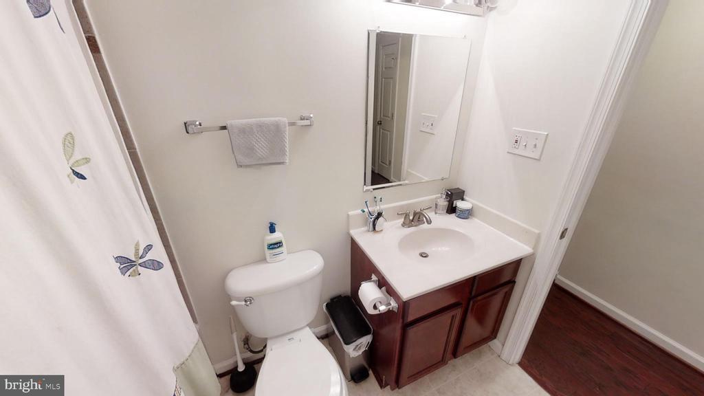 3rd full bath in hallway - 28 NOVAK DR, STAFFORD