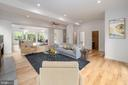 Open Concept Main Floor - Virtually Staged - 8728 RIDGE RD, BETHESDA