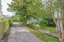 View of Driveway from Road - 5362 HAYES ST NE, WASHINGTON