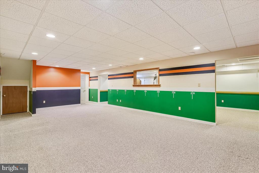 Lower level Recreation room - 2040 SALEM CHURCH RD, STEPHENS CITY